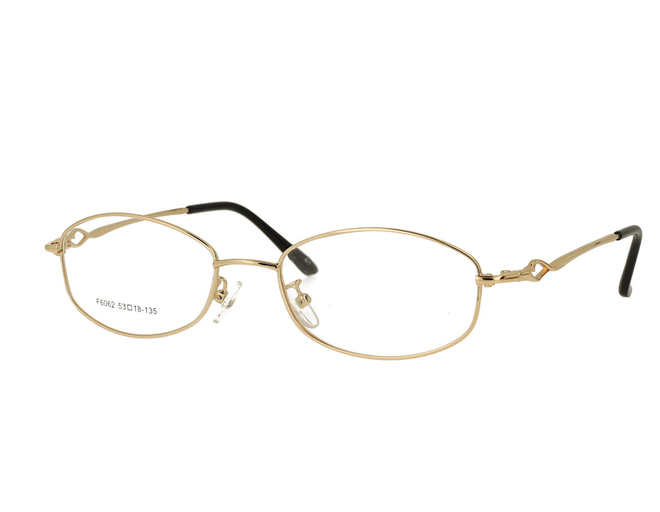 Woman's oval full rim Classic optical Frame