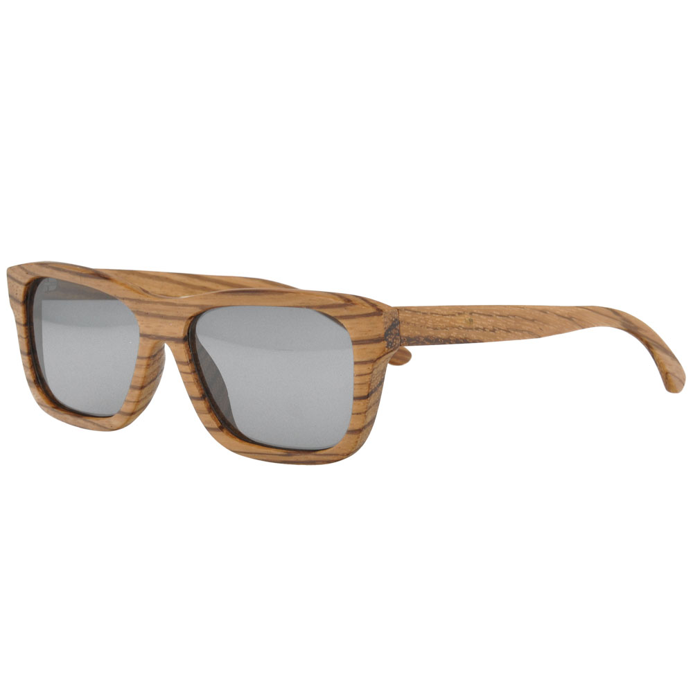 Wood Sunglasses With Polarized Lens