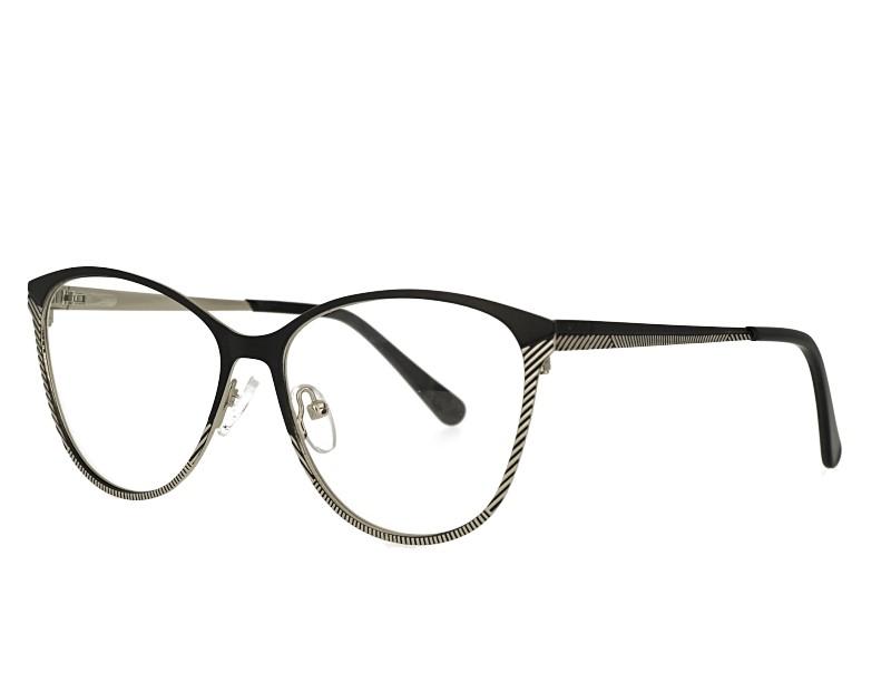 cat Eye stainless steel eyeglasses frame