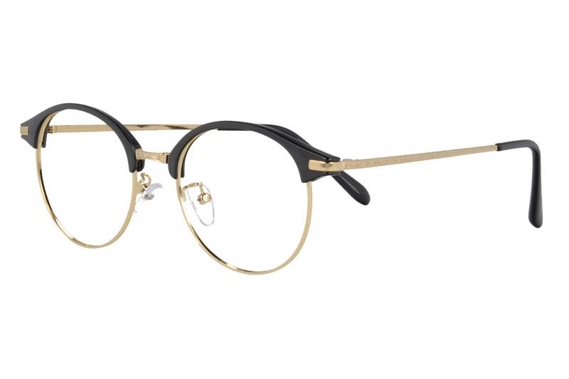 Retro unisex TR&metal  myopia eyewear