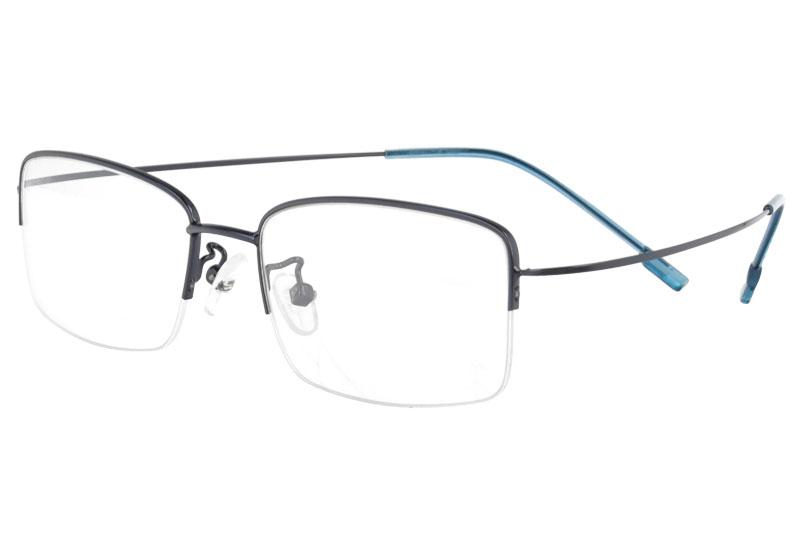 Hingless metal eyeglass myopia  eyewear RX optical frames