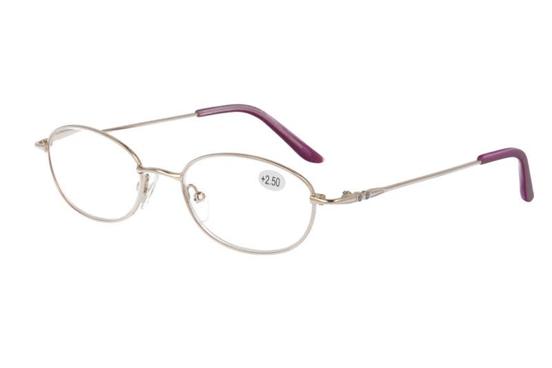 metal anti blue presbyopia eyewear reading eyeglasses with ADD :+100~+400
