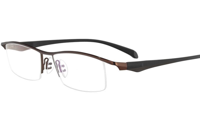 Metal myopia eyeglasses eyewear prescription spectacles