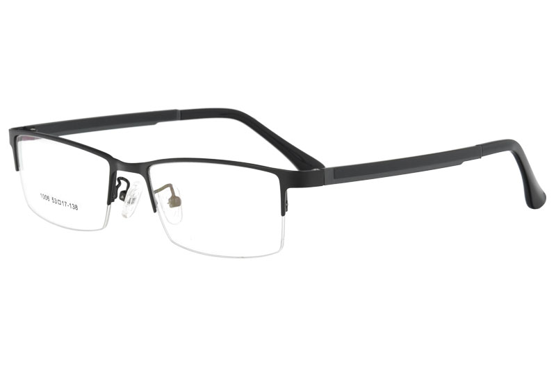 Metal optical frames with ultem temple eyewear  glasses