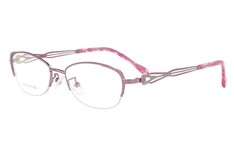 Metal prescription spectacles eyewear eyeglasses