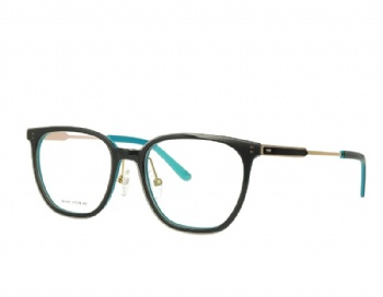 Acetate Designer Optical Frame Metal Temple
