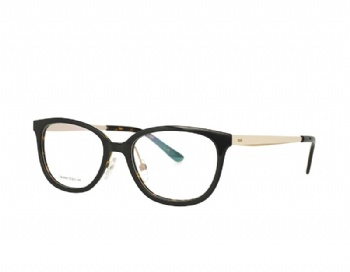 Acetate Optical Glasses and Metal Temples