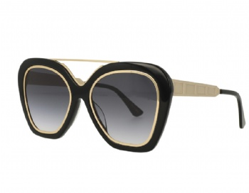 Butterfly Acetate Metal Combination Sunglasses