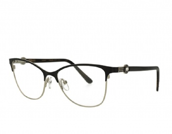 Cat eye womans metal eyewear glasses