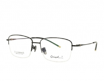 Man's Half Rim Pure Titanium Optical Eyeglasses  Frame