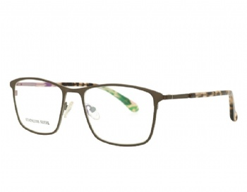 Man's Rectangle Metal Optical Eyewear