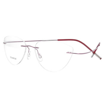 Memory metal Optical Eyeglasses  Frame