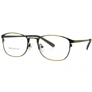 Metal glasses Myopia Eyewear Prescription Spectacles