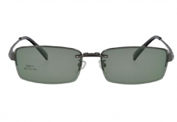 Metal polarized clip on sunglasses Optical frames