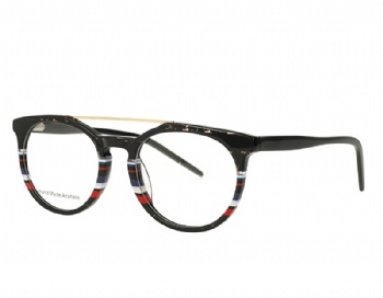 Retro Double Bridge Acetate Optical Frames