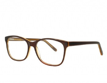 Square Acetate optical eyewear with spring hinge