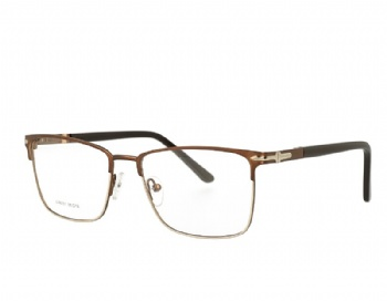 Square man's metcal optical Frame Acetate Temples