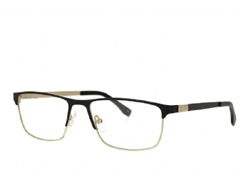 Square womans metal prescription eyewear