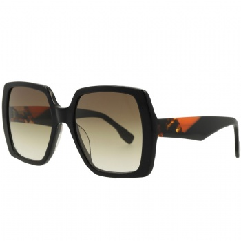 Unisex Square Designer Acetate Frame with CR39 Lens Sunglasses