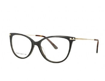 Woman's Acetate Optical Frame with spring hinge