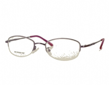 Woman's oval half rim Classic optical Frame