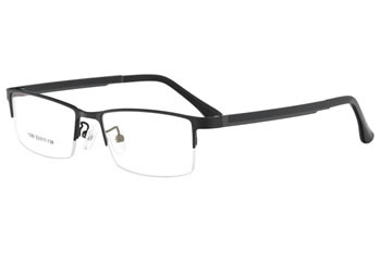 Metal optical frames with ultem temple eyewear  glasses