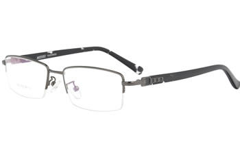 Metal with acetate temple optical frames   eyeglasses